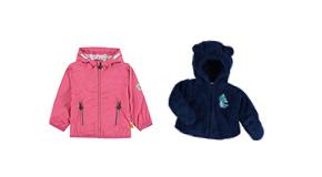 Dětské bundy a vesty