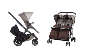 Twin and Tandem Strollers