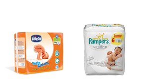 Diapers and Wet Wipes