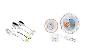 Dětské příbory a nádobí