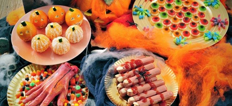 Buffet zu Halloween