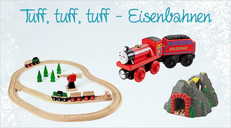 Eisenbahn als Geschenkidee für Weihnachten