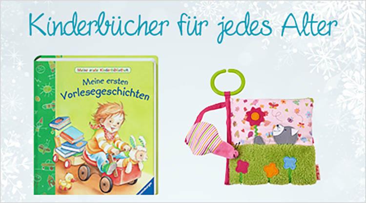 Kinderbücher für jedes Alter Weihnachtsgeschenk