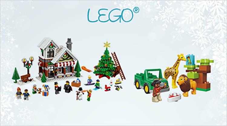 Lego als Geschenk für Weihnachten