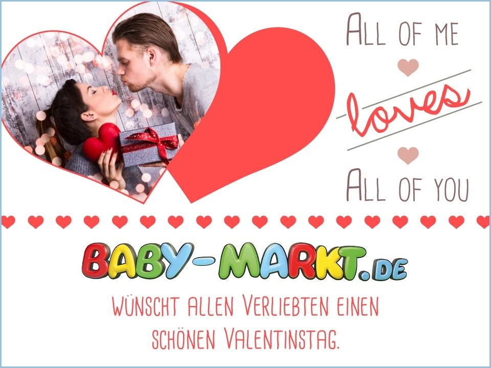 Babymarkt Valentinstag Spruch