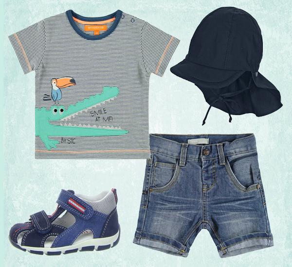 Sommeroutfit für Jungen