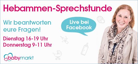 babymarkt.de  Hebammen-Sprechstunde auf Facebook