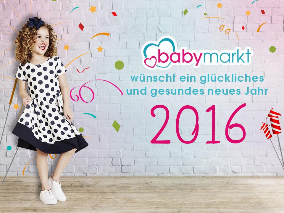 babymarkt.de wünscht euch ein frohes neues Jahr 2016