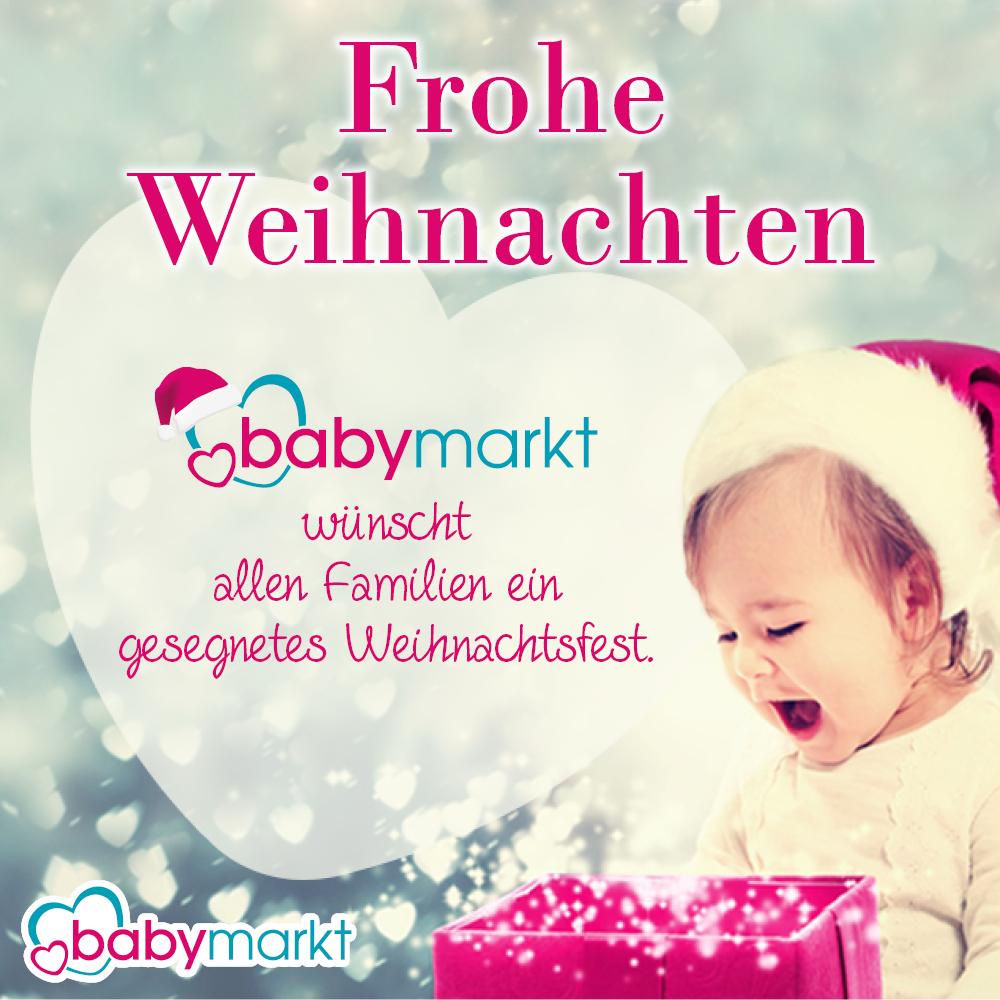 babymarkt.de wünscht frohe Weihnachten