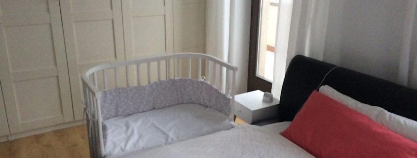 babybay Beistellbett Maxi mit Matratze & Nestchen