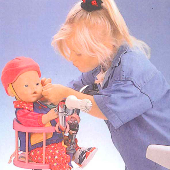 Baby Puppe altmodisch