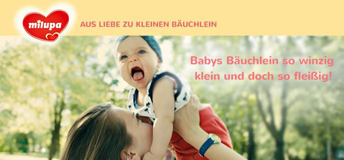 Milupa - Babys Bäuchlein