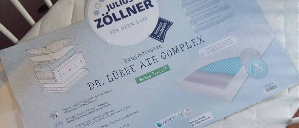 Julius Zöllner Matratze Dr. Lübbe Air Complex 70x140 cm im Babybett