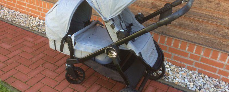 Baby Jogger City Select Lux Slate mit Babywanne und Zweitsitz