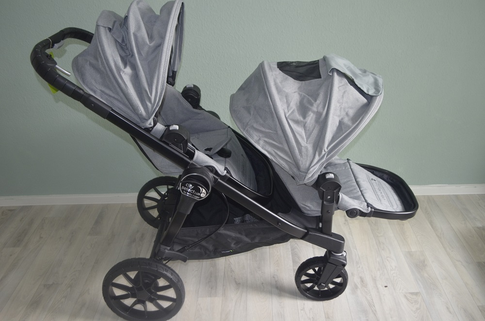 Baby Jogger City Select Lux Slate Zweitsitz