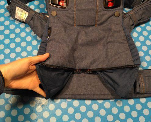BABYBJÖRN Babytrage One Cotton Mix Classic Jeans/ Mitternachtsblau