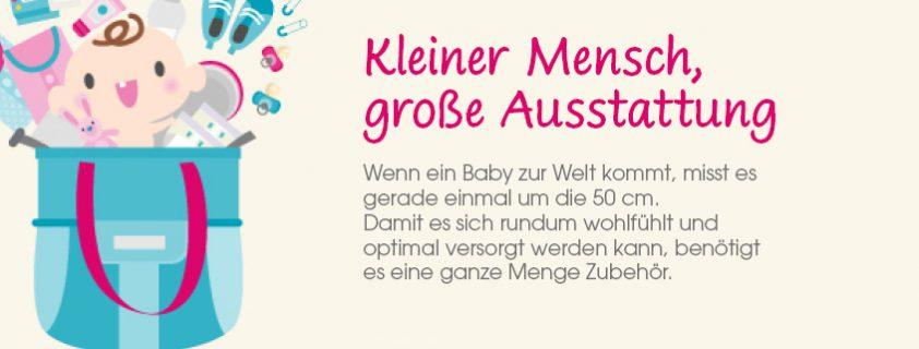 Infografik Babyausstattung