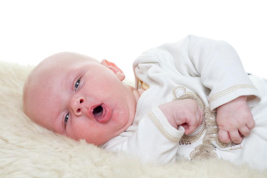 Baby hustet