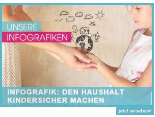 Haushalt Kindersicher machen Infografik