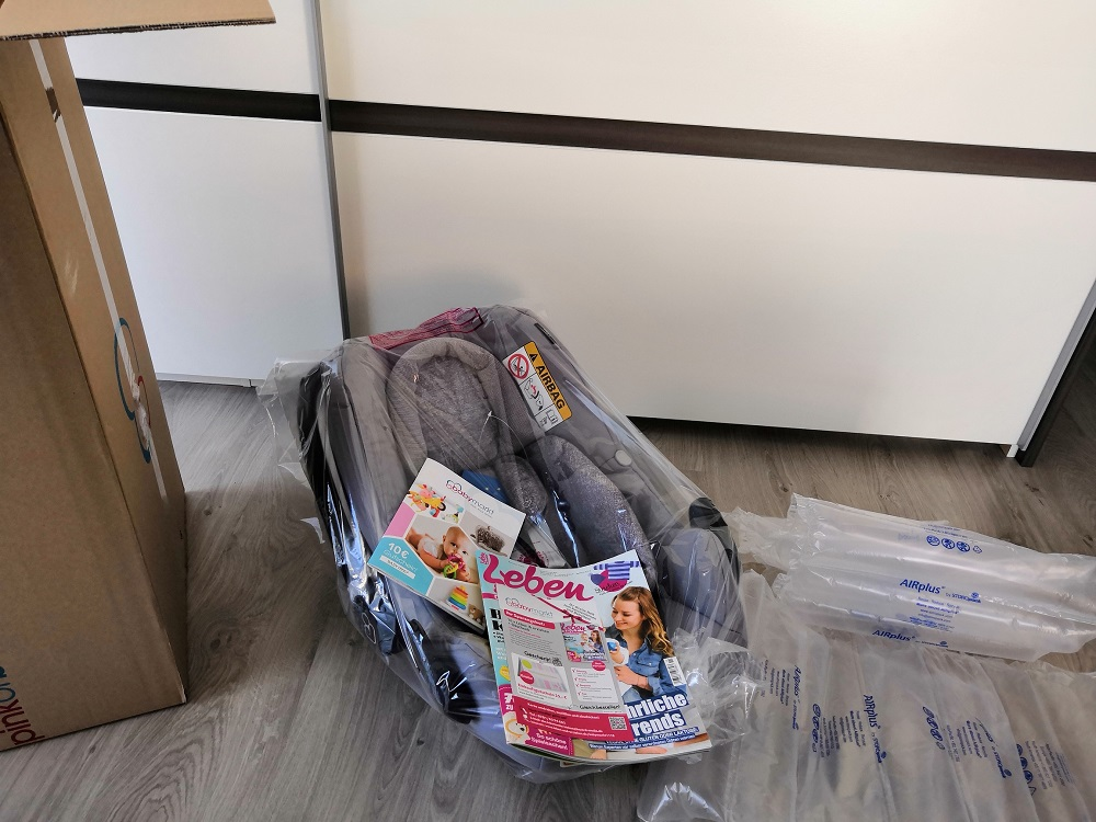 MAXI COSI Babyschale Rock Nomad Grey mit babymarkt.de-Katalog & Leben & erziehen