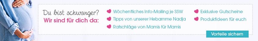 Schwangerschafts Newsletter bei babymarkt.de