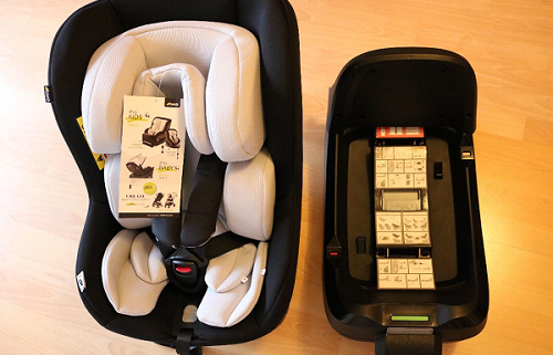 hauck Kindersitz iPro Kids Set mit iPro Base