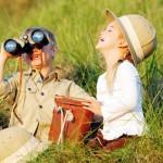 Kinder auf Entdeckungstour