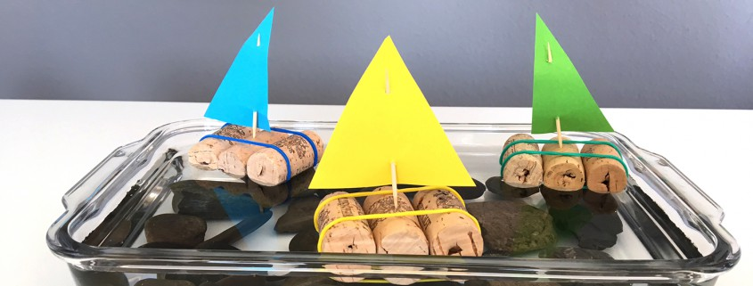 Wer Bastelt Das Schnellste Kork Schiffchen Babymarktde