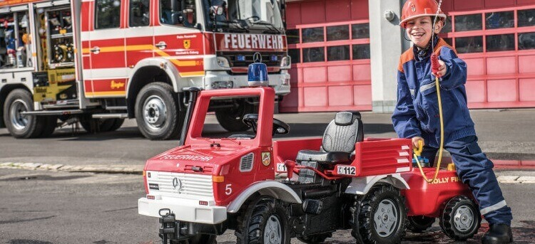 RollyToys Rolly Fire Unimog
