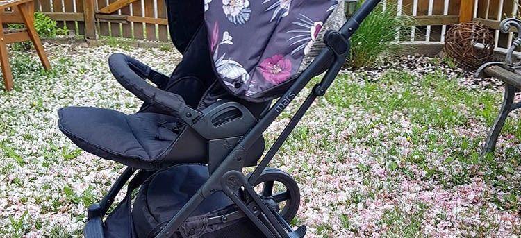 hauck Kombi-Kinderwagen Mars Duo Set Garten