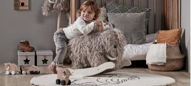 Kids Concept Mammut Schaukeltier