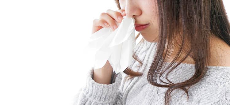 Schwangere hat Nasenbluten