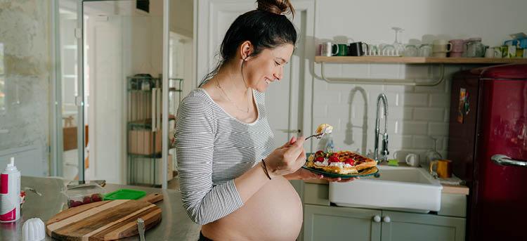 Mozzarella Schwangerschaft
