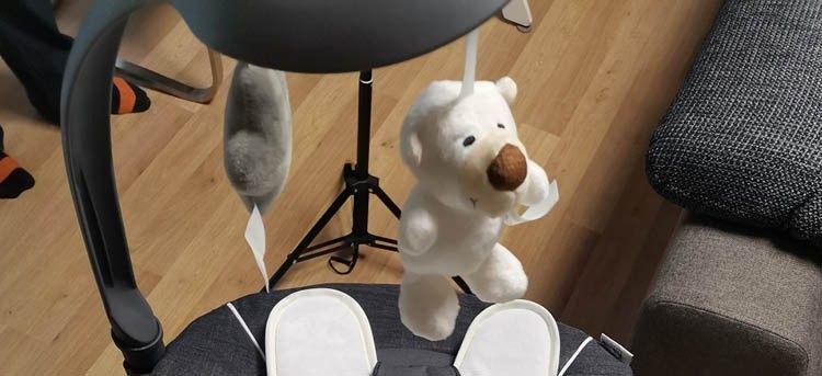 hauck Hochstuhl Beta Plus Mobile Teddybär