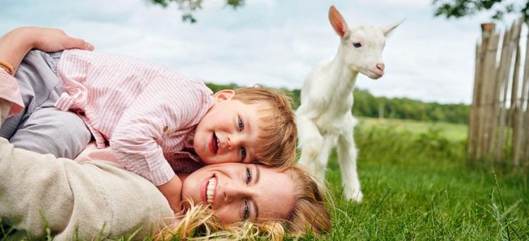 Kabrita Babynahrung auf Ziegenmilchbasis